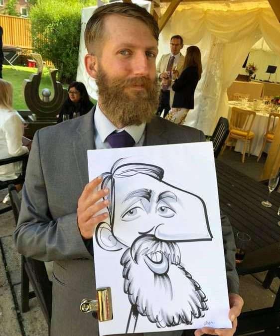 beard caricature