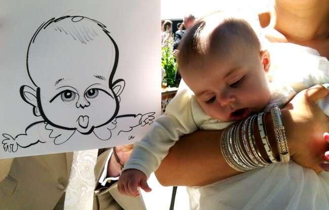 baby caricature
