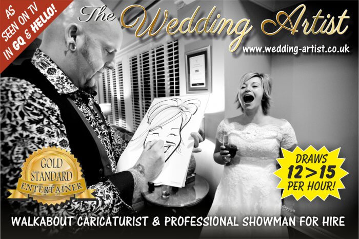 wedding caricatures